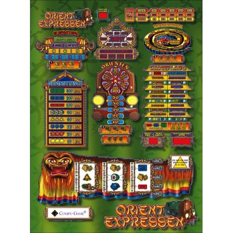 spilleautomat Orient expres